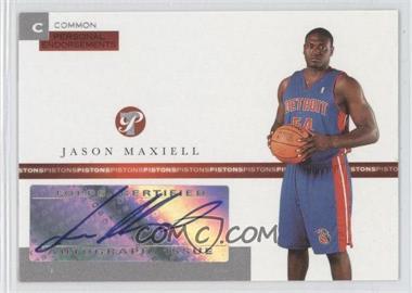 2005-06 Topps Pristine Personal Endorsements Autographs [Autographed] #PEC-JM - Jason Maxiell /215