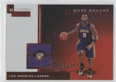 2005-06 Topps Pristine Personal Pieces Relics Uncirculated #PPU-KB - Kobe Bryant /5