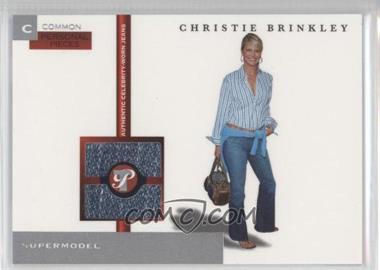 2005-06 Topps Pristine Personal Pieces Relics #PPC-CBR - Christie Brinkley /350