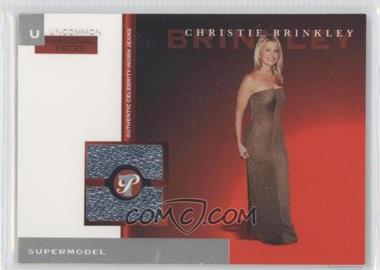 2005-06 Topps Pristine Personal Pieces Relics #PPU-CB - Christie Brinkley /175