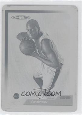 2005-06 Topps Total - [Base] - Printing Plate Yellow Fronts #339 - Andrew Bynum /1