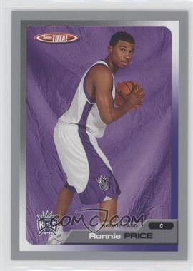 2005-06 Topps Total - [Base] - Silver #277 - Ronnie Price