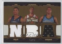 Randy Foye, Rudy Gay, LaMarcus Aldridge /27