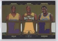 Kobe Bryant, Lamar Odom, Magic Johnson /27
