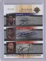 Michael Redd, Tracy McGrady, Corey Maggette /10