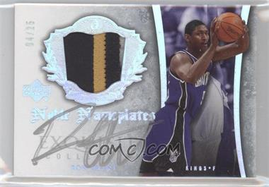 2005-06 Upper Deck Exquisite Collection Noble Nameplates #NN-RA - Ron Artest /25