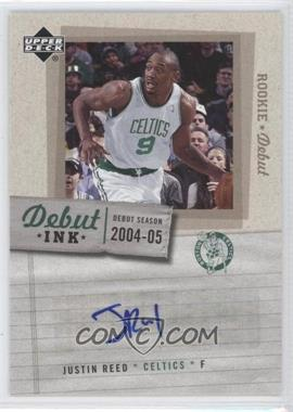 2005-06 Upper Deck Rookie Debut Debut Ink #DI-JU - Justin Reed