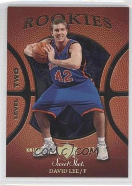 2005-06 Upper Deck Sweet Shot Gold Spectrum #103 - David Lee