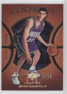 2005-06 Upper Deck Sweet Shot Gold Spectrum #128 - Ersan Ilyasova /50