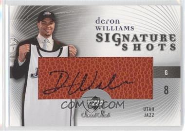 2005-06 Upper Deck Sweet Shot Signature Shots [Autographed] #SS-DW - Deron Williams