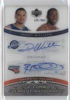 Deron Williams, Raymond Felton /50