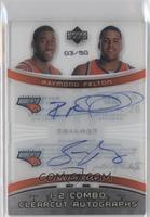 Sean May, Raymond Felton /50