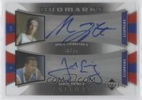 Shaun Livingston, Daniel Ewing /75