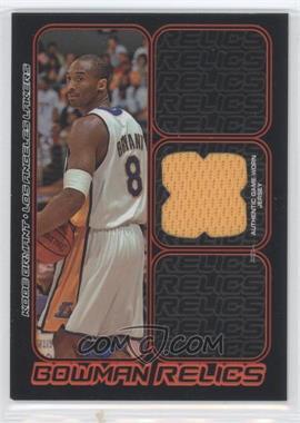 2006-07 Bowman Draft Picks & Stars - Bowman Relics #BR-KB - Kobe Bryant