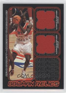 2006-07 Bowman Draft Picks & Stars Bowman Relics Dual #BDR-KG - Kevin Garnett /249