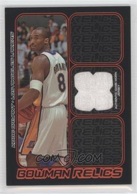 2006-07 Bowman Draft Picks & Stars Bowman Relics #BR-KB - Kobe Bryant
