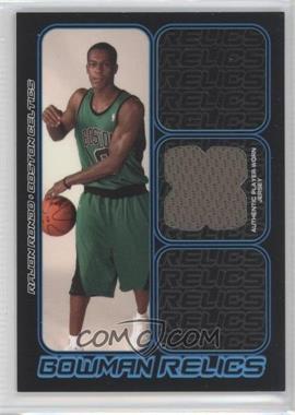 2006-07 Bowman Draft Picks & Stars Bowman Relics #BR-RR - Rajon Rondo