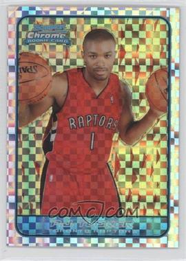 2006-07 Bowman Draft Picks & Stars Chrome X-Fractor #144 - P.J. Tucker /150