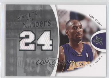 2006-07 Fleer EX Behind The Numbers #BN-KB - Kobe Bryant /199