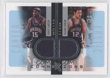 2006-07 Fleer EX Connextions #CN-CK - Vince Carter, Nenad Krstic /199