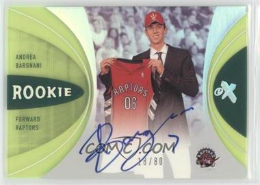 2006-07 Fleer EX Essential Credentials Now #80 - Andrea Bargnani /80