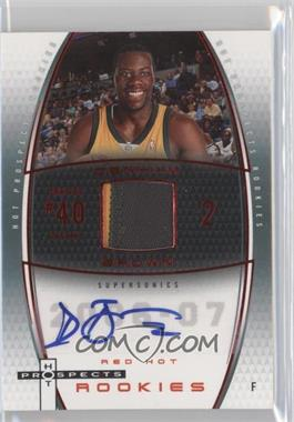 2006-07 Fleer Hot Prospects Red Hot #71 - Denham Brown /50