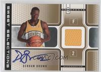Denham Brown /25