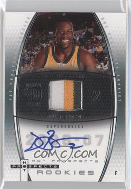 2006-07 Fleer Hot Prospects #71 - Denham Brown /250