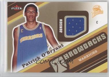 2006-07 Fleer Throwbacks #T-PO - Patrick O'Bryant