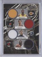 Kobe Bryant, Steve Nash, Dirk Nowitzki, Shaquille O'Neal, Chauncey Billups, Dwy…