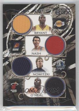 2006-07 Luxury Box - Relics Seven #LB7R-2 - Kobe Bryant, Steve Nash, Dirk Nowitzki, Shaquille O'Neal, Chauncey Billups, Dwyane Wade, Tim Duncan /99