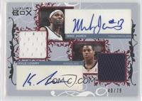 Mike James, Kyle Lowry /79