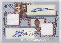 Boris Diaw, Hakim Warrick /79