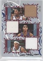 Metta World Peace, Kevin Martin, Mike Bibby /49