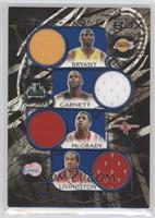 Kobe Bryant, Kevin Garnett, Tracy McGrady, Amare Stoudemire, Jermaine O'Neal /49
