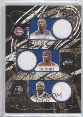 2006-07 Luxury Box Relics Five Blue #LB5R-2 - Chauncey Billups, Larry Hughes, Jamaal Tinsley, Chris Duhon, Michael Redd /49