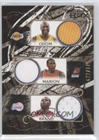 Lamar Odom, Shawn Marion, Elton Brand, Mike Dunleavy, Metta World Peace /179