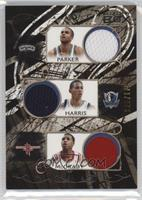 Tony Parker, Devin Harris, Tracy McGrady, Chris Paul, Damon Stoudamire /179