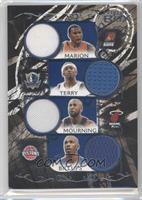 Shawn Marion, Jason Terry, Alonzo Mourning, Chauncey Billups /49