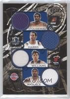 Amare Stoudemire, Devin Harris, Jason Williams, Rasheed Wallace /49