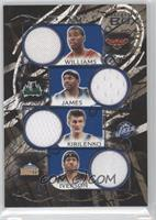 Marvin Williams, Andrei Kirilenko, Mike James, Allen Iverson /49