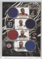 Shawn Marion, Jason Terry, Alonzo Mourning, Chauncey Billups /199