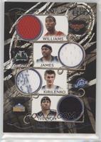Marvin Williams, Andrei Kirilenko, Mike James, Allen Iverson /199