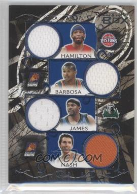 2006-07 Luxury Box Relics Seven Blue #LB7R-9 - Richard Hamilton, Leandro Barbosa, Mike James, Steve Nash, Ben Gordon, Chauncey Billups, Bruce Bowen /49