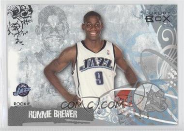 2006-07 Luxury Box Silver #93 - Ronnie Brewer /9