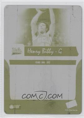 2006-07 Press Pass Legends - [Base] - Printing Plate Yellow Back #60 - Henry Bibby /1