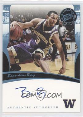 2006-07 Press Pass Legends Autographs [Autographed] #BRRO - Brandon Roy