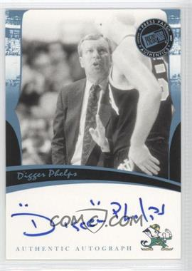 2006-07 Press Pass Legends Autographs [Autographed] #DIPH - Digger Phelps