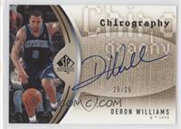 Deron Williams /25