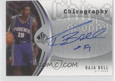 2006-07 SP Authentic Chirography #CH-RB - Raja Bell